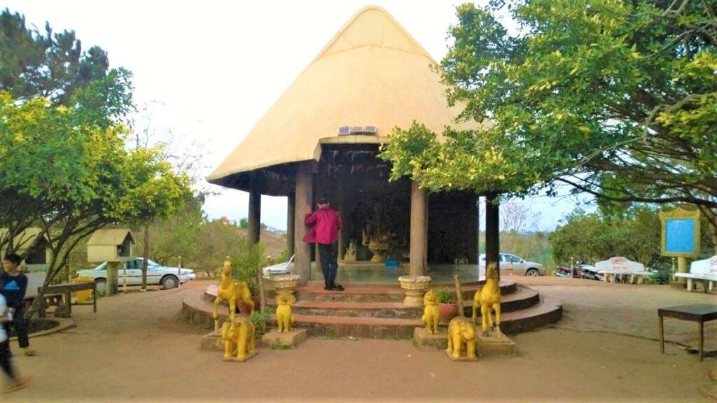Phnom Doh Kromon in Cambodja