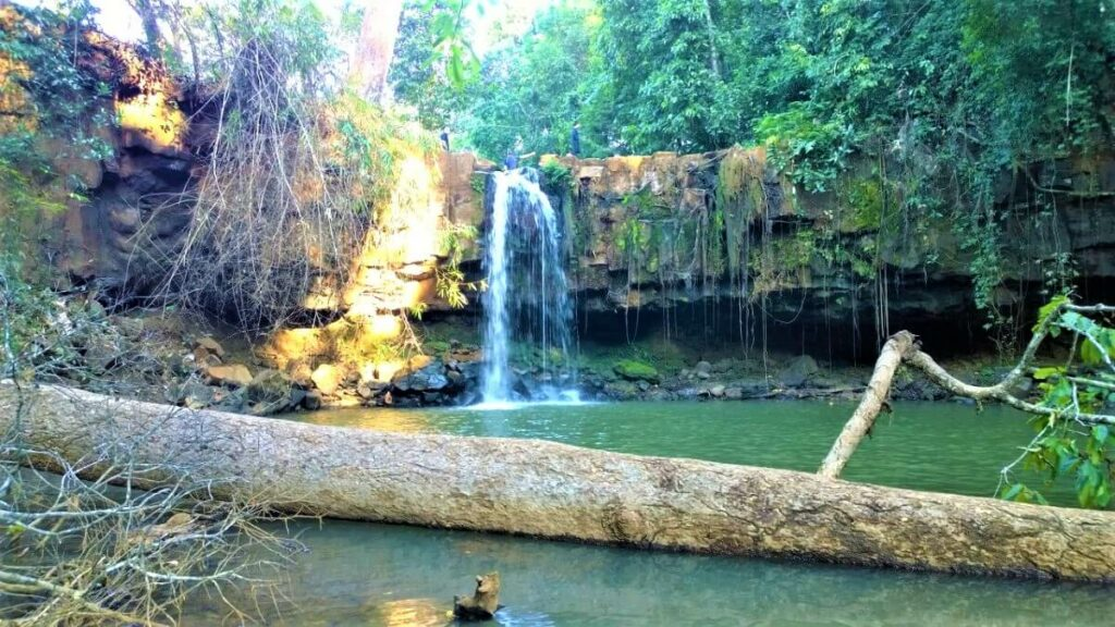 Sen Monorom Falls, Cambodja
