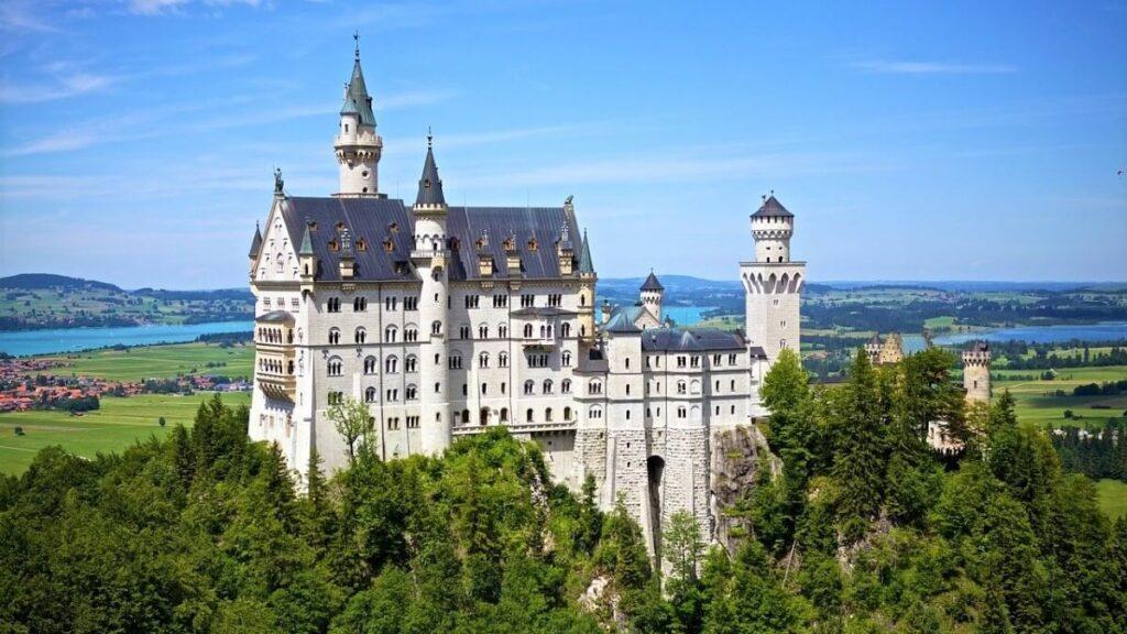Slot Neuschwanstein in Beieren, Duitsland