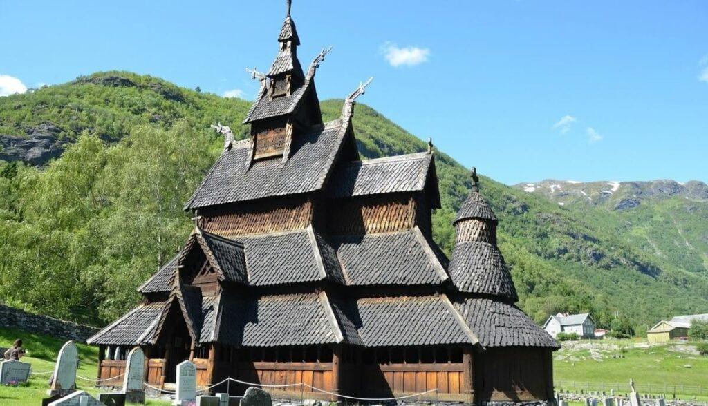 Bezienswaardigheden in Noorwegen: De staafkerk van Borgund