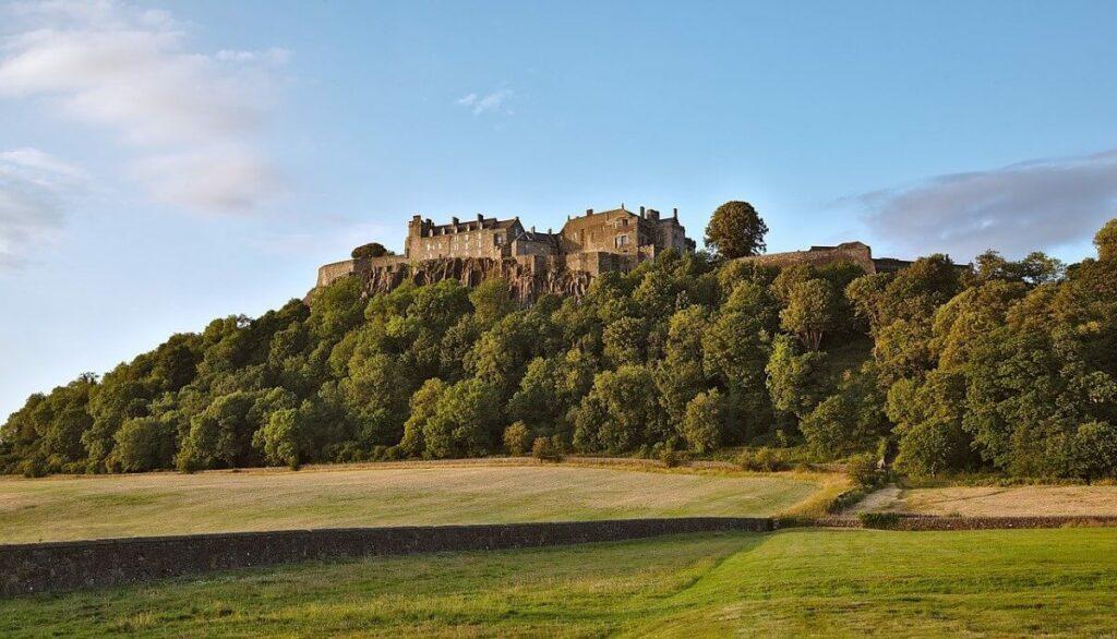 De geschiedenis van Stirling Castle, Schotland