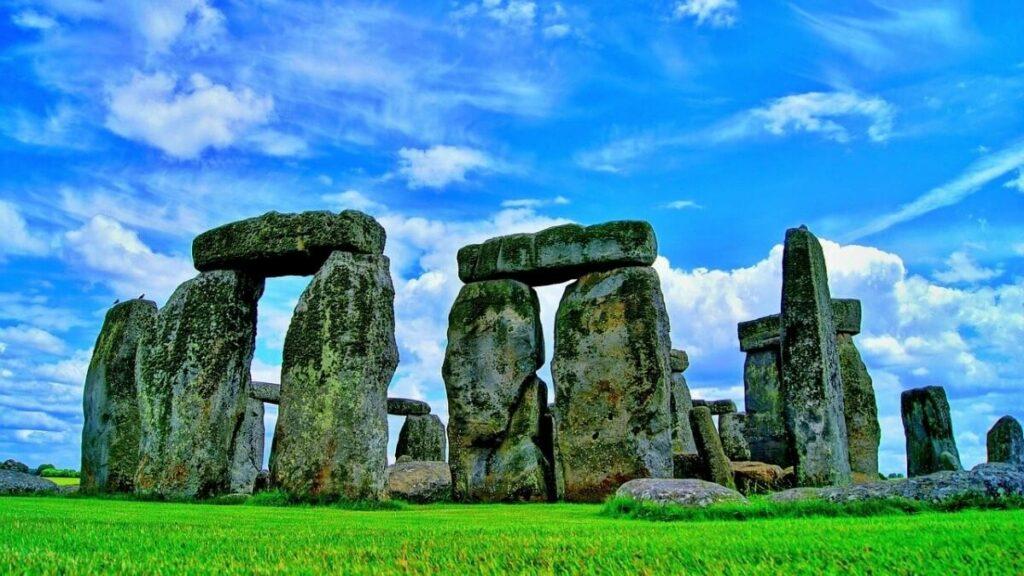 Geschiedenis van Stonehenge bij Amesbury, Engeland