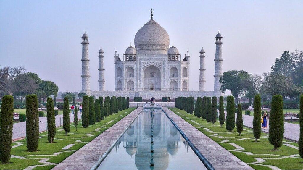 Geschiedenis van de Taj Mahal in Agra, India