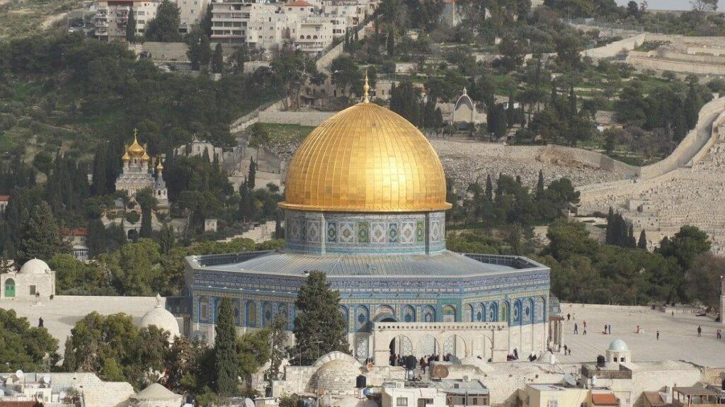 Geschiedenis van de Tempelberg in Jeruzalem, Israël