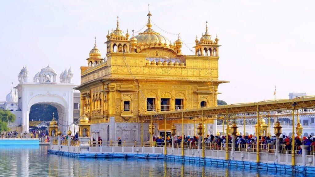 Geschiedenis van de gouden tempel van Amritsar, India