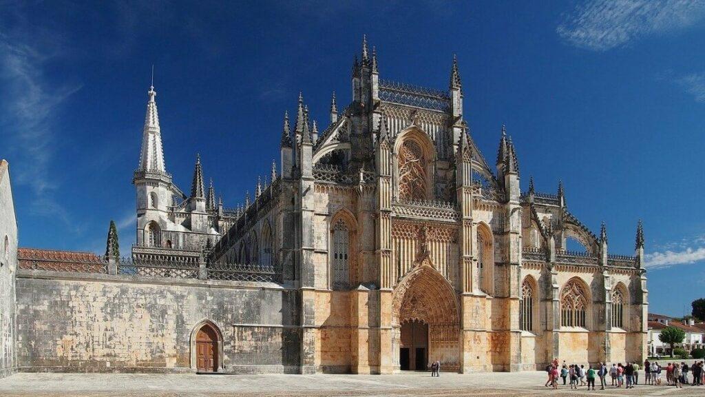 Het klooster van Batalha, Portugal