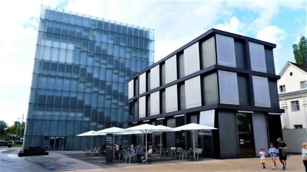 Kunsthaus in Bregenz, Oostenrijk