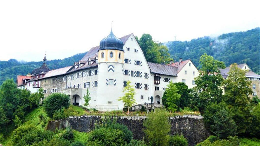 De Oberstadt in Bregenz, Oostenrijk
