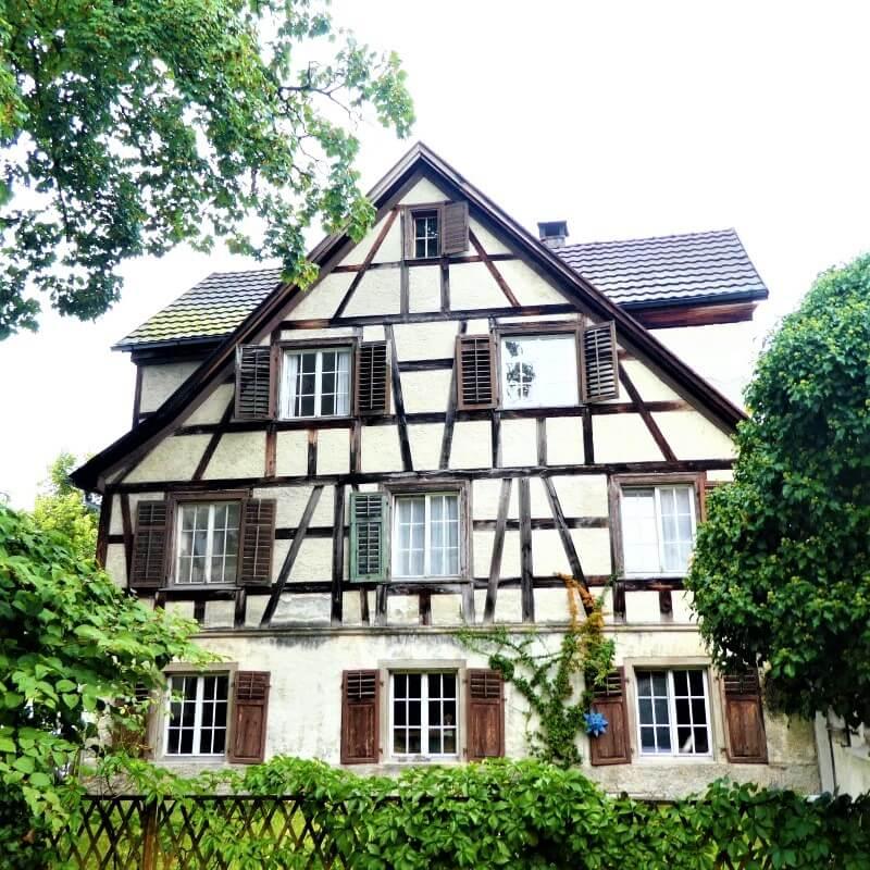 Een huis in de oberstadt, Bregenz