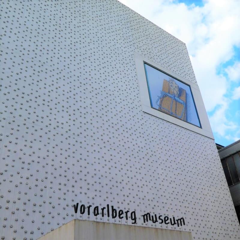 Het Vorarlberg Museum in Bregenz