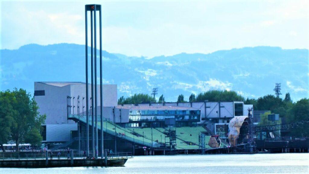 Bregenzer Festspiele op de Bodensee, Oostenrijk