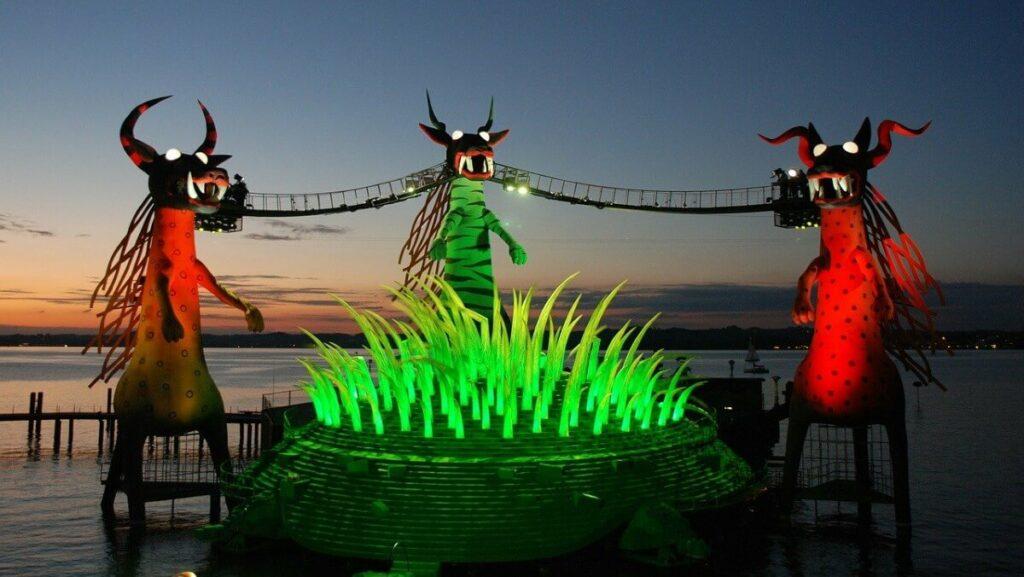 De Festspiele op de Bodensee, Oostenrijk