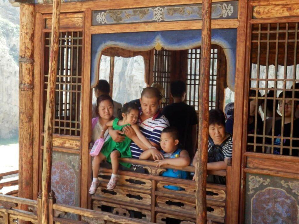 Toeristische trekpleister in China bij Datong