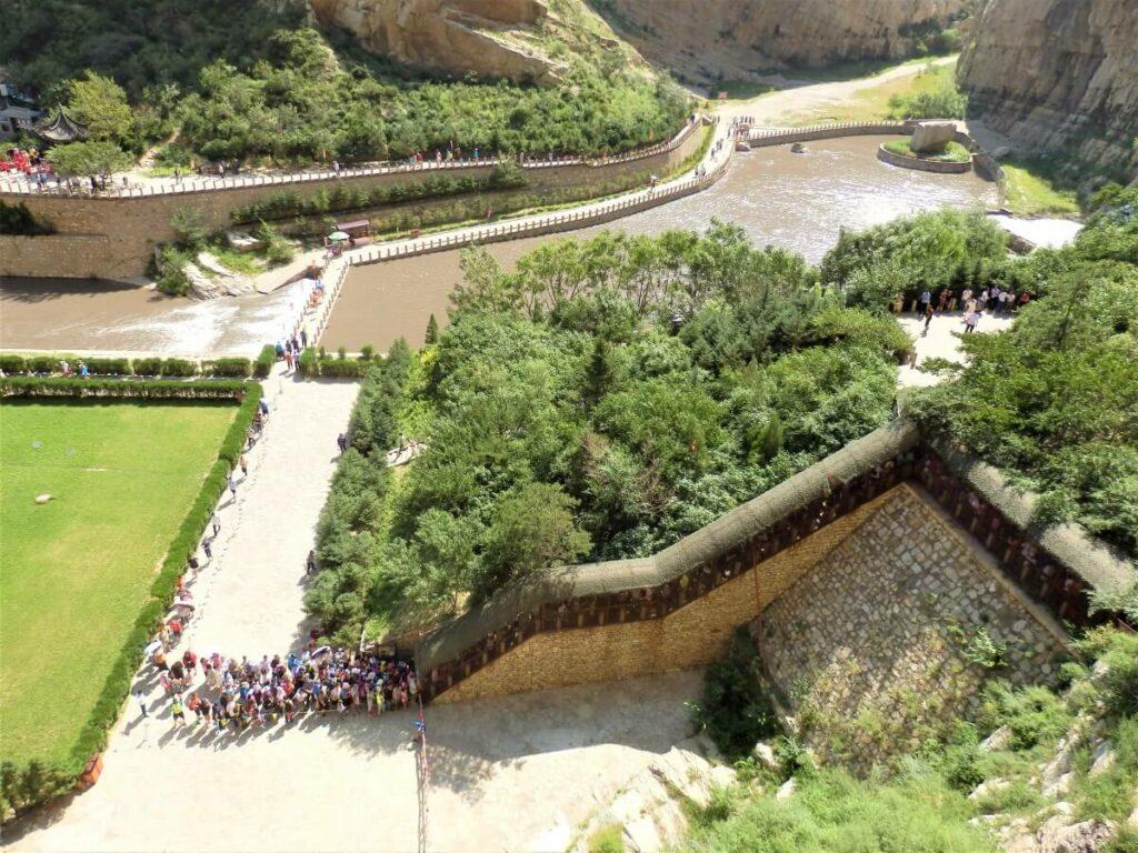 De entree tot het Hangende Klooster in China