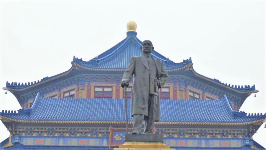 Standbeeld van Sun Yat-Sen in Guangzhou, China