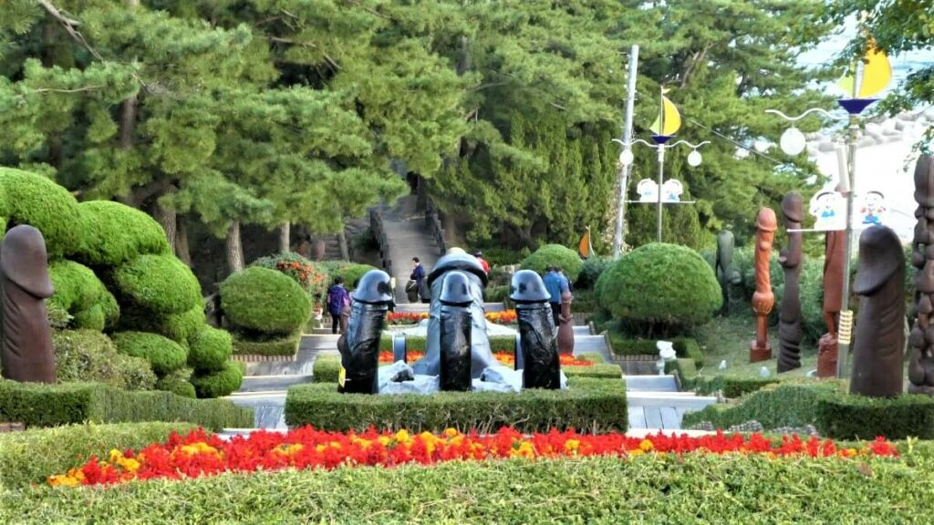 Penissen op een rij, Zuid-Korea