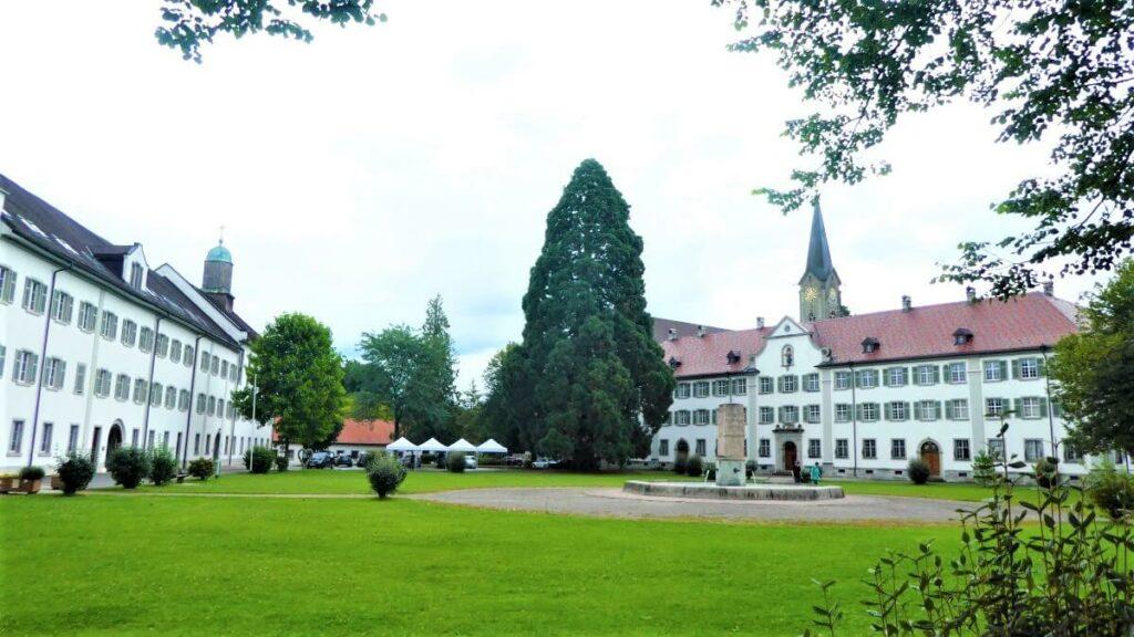 Het klooster Wettingen-Mehrerau in Bregenz