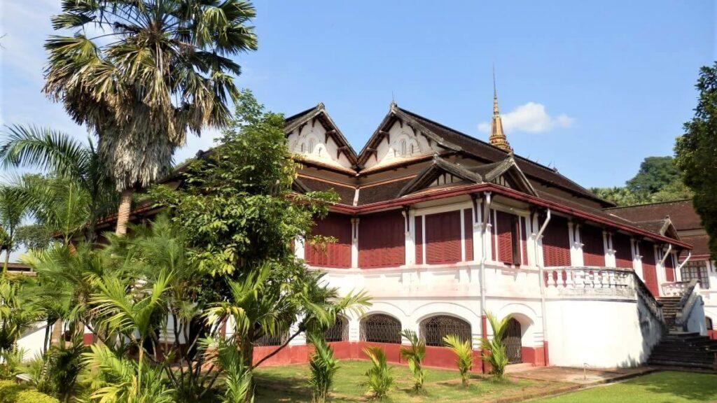 Het koninklijk paleis, Laos