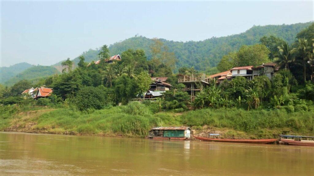 De boot van Luang Prabang naar Pakbeng en Huay Xai