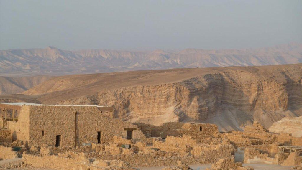 Bezienswaardigheden in Israël: Het fort Massada
