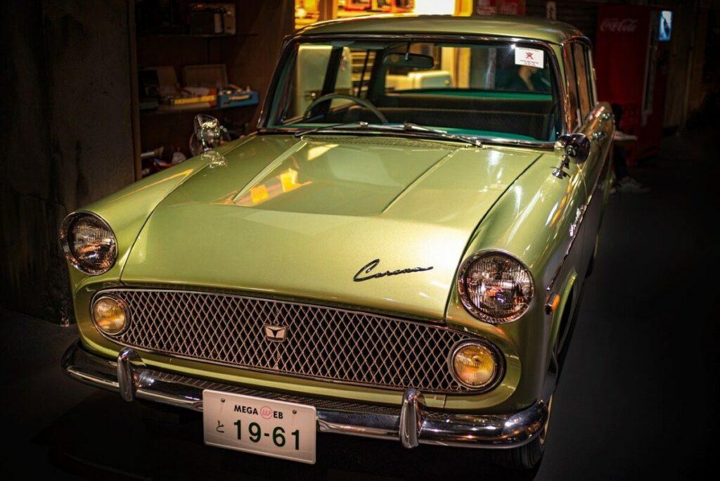 Het Toyota Museum in Japan
