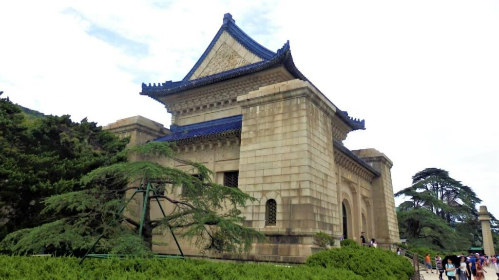 Het marmeren Mausolen van Sun-Yat-Sen, Nanjing