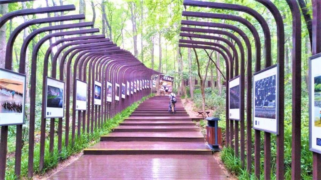 Toegangsweg tot het mausoleum van Sun-Yat-Sen