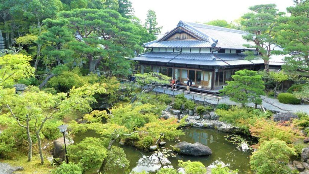 Een Japanse tuin