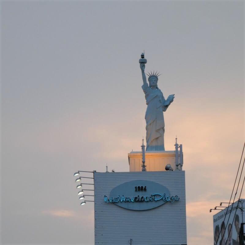 Statue of Liberty in Osaka, Japan