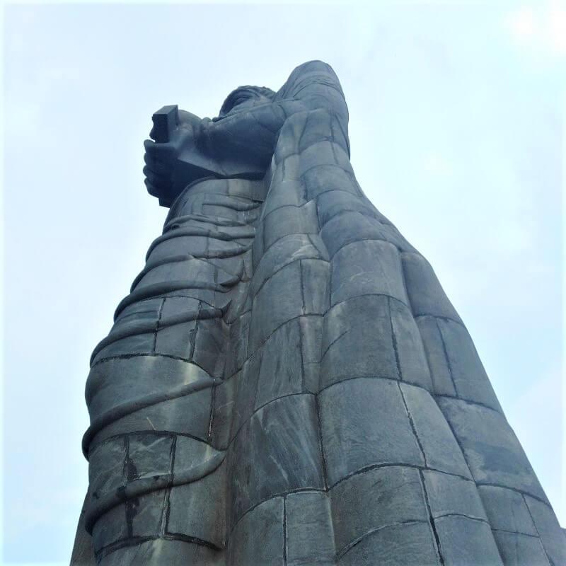 Thiruvalluvar Statue in het zuiden van India