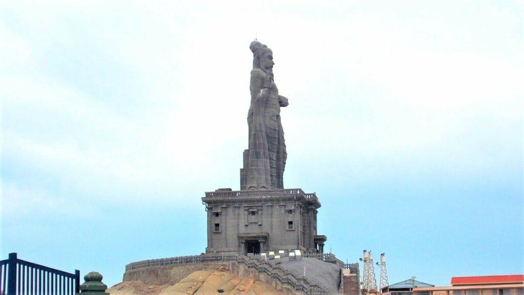 Van Vivekananda Rock Memorial naar Thiruvalluvar Statue, Kanyakumari