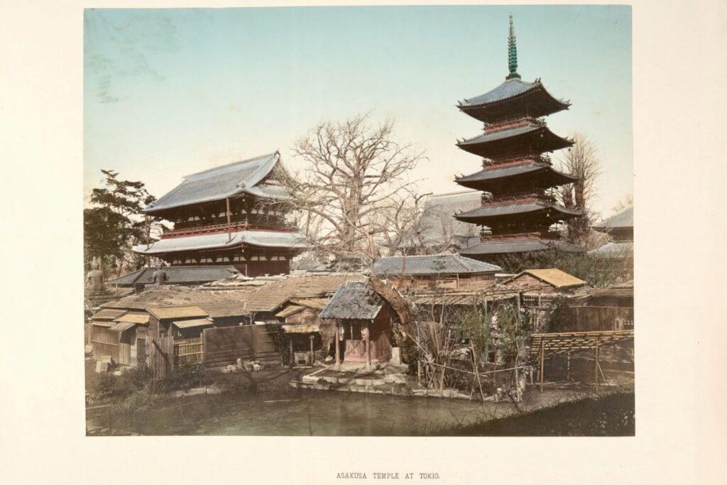 Geschiedenis van de Sensoji Tempel, Tokio