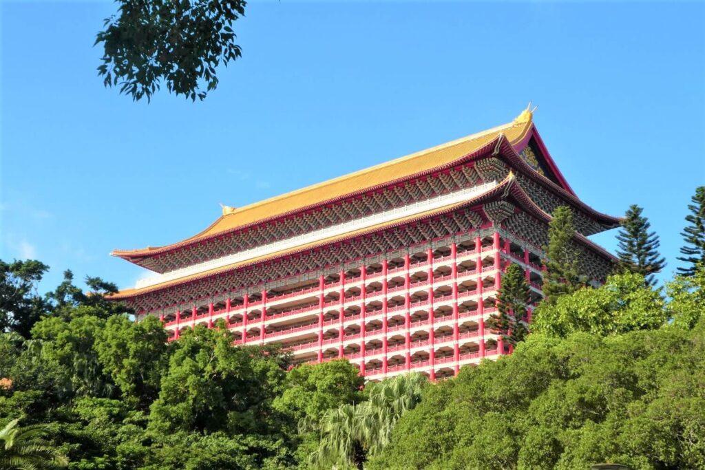 De Grand Hotel in Taipei, Taiwan