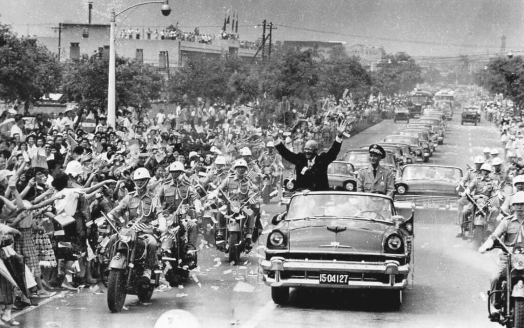 Geschiedenis van Taiwan en Chiang Kai Shek