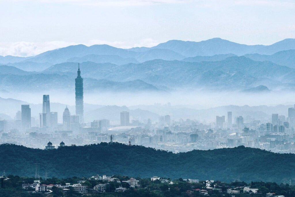 Reisgids over Taipei in Taiwan