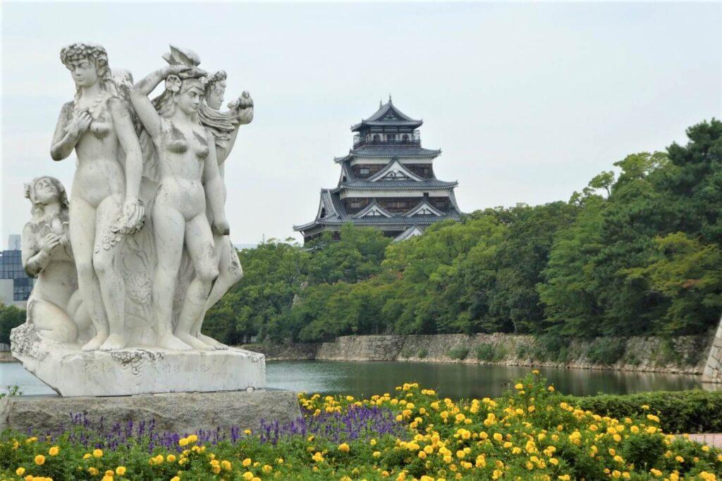 Bezienswaardigheden: Het kasteel van Hiroshima