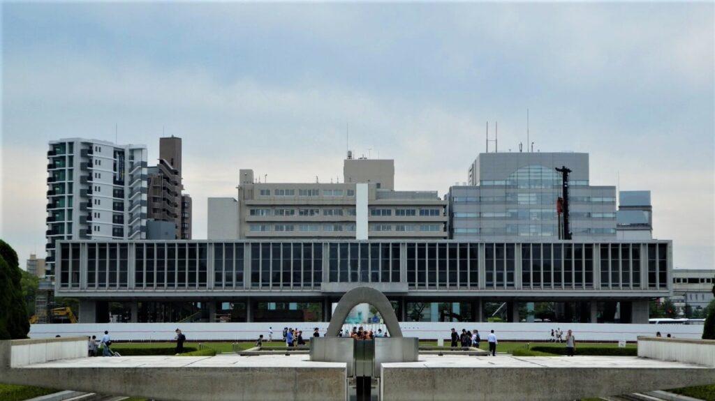 Het Peace Memorial Museum in Hiroshima