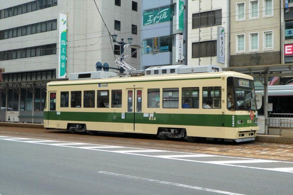 Openbaar vervoer in Hiroshima: de tram