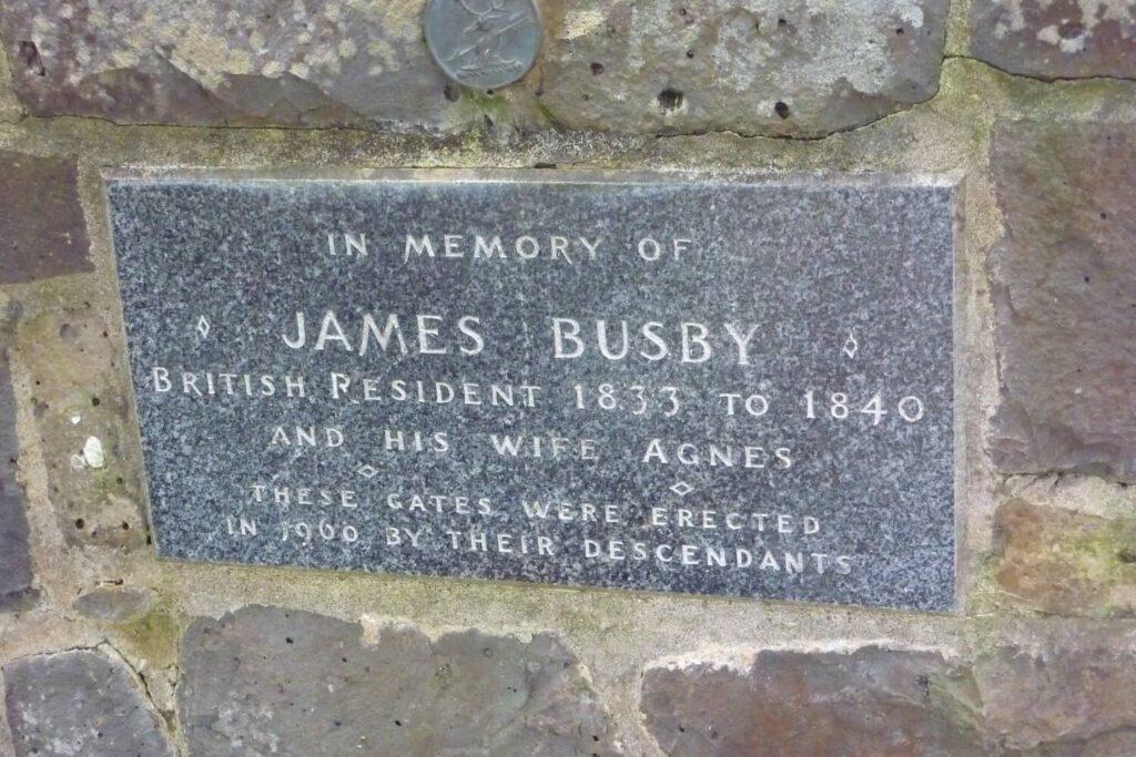 James Busby, Brits gezant in Nieuw-Zeeland