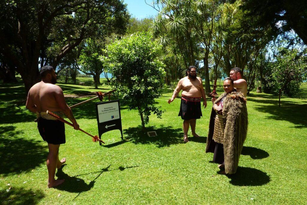 Culturele voorstelling van de Maori in Nieuw-Zeeland
