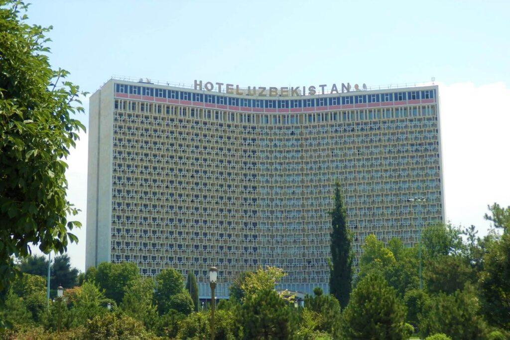 Accommodatie in Tasjkent: Het iconische hotel Uzbekistan