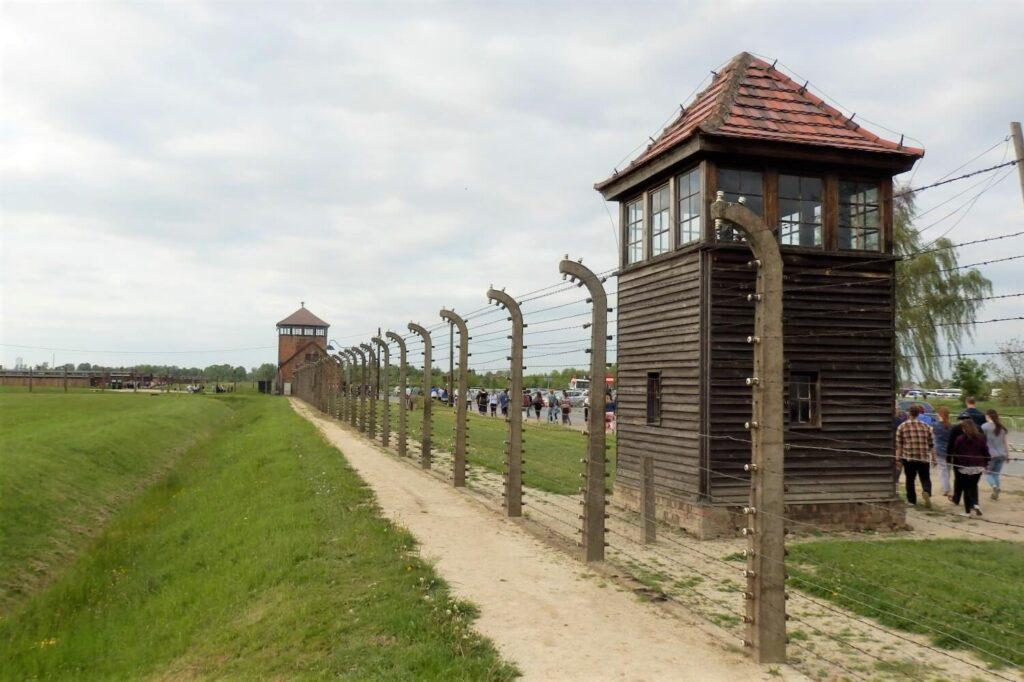 Het kamp Auschwitz-Birkenau II in Polen