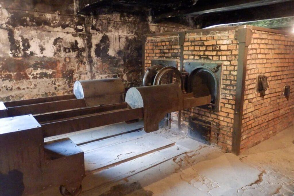 Crematorium in Auschwitz-Birkenau
