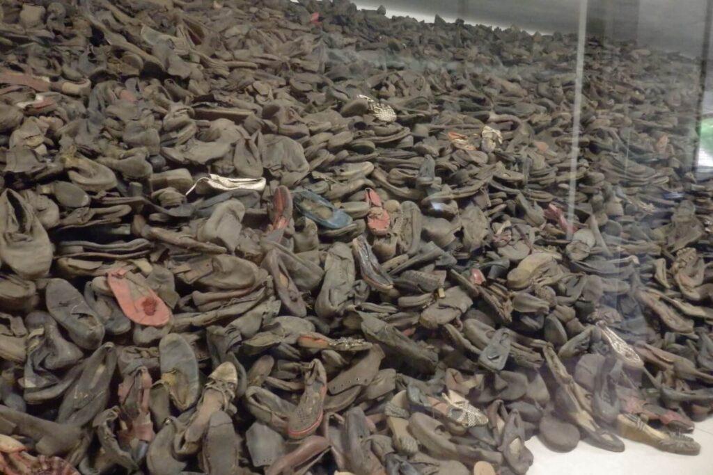 Bewijsmateriaal in Auschwitz