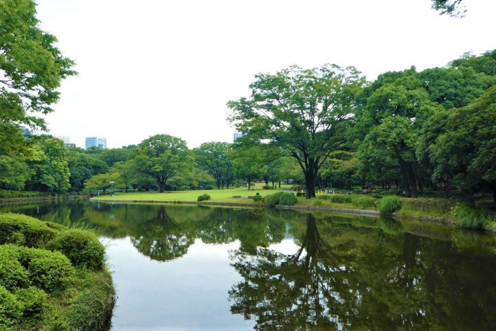 Kitanomaru Park, de vroegere tuinen van het Edo-kasteel