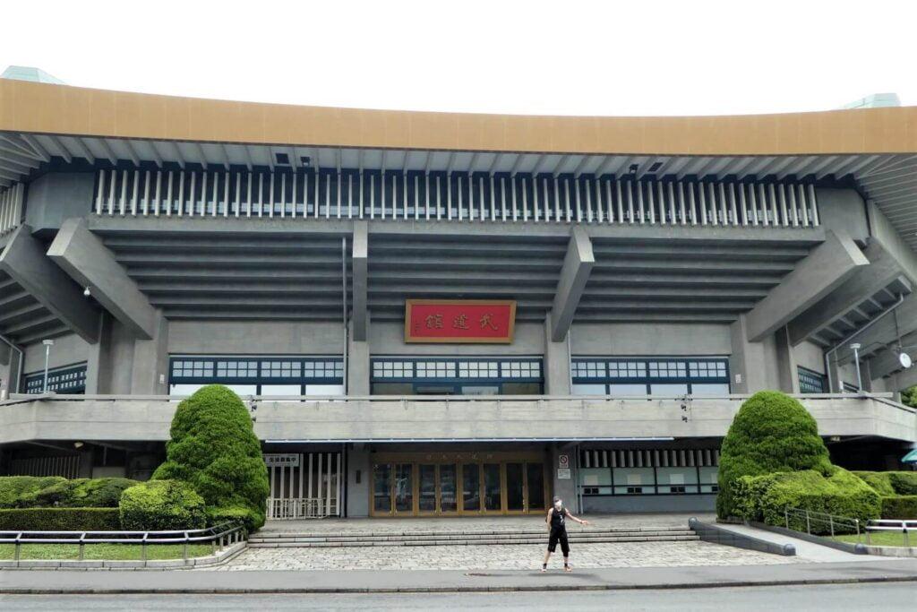 De judohal Nippon Budokan in Kitanomaru Park